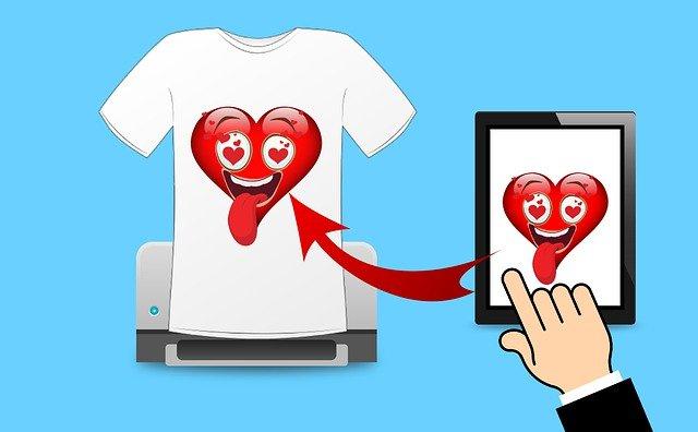 T-shirt come scegliere la dimensione giusta del logo