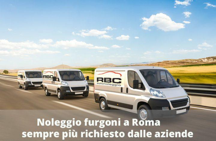 Noleggio furgoni a roma sempre più richiesto dalle aziende